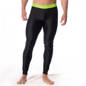 Gigo BLACK/GREEN Lycra Long Pants G18045