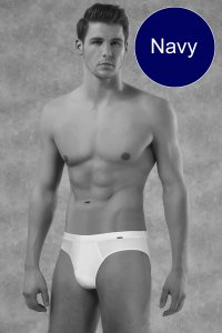 Doreanse Solid Brief Underwear Navy 1011