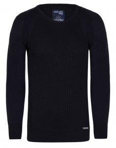 Giorgio Di Mare Jersey Long Sleeved Sweater Navy GI7338856