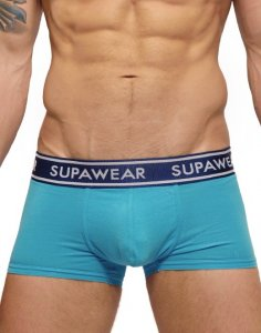 Supawear Supadupa Trunk Boxer Brief Underwear Blue