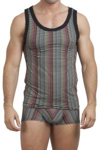 L'Homme Invisible Buren Singlet Tank Top T Shirt MY72-BUR-001