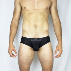 McKillop Max Bulge Expose Modal Brief Underwear Black MBMO-BK1