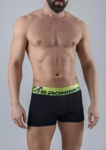 Geronimo Boxer Brief Underwear Black 1765B1