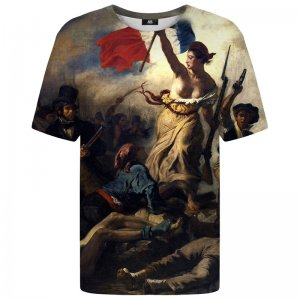 Mr. Gugu & Miss Go Liberty Leading The People Unisex Short Sleeved T Shirt TSH1252