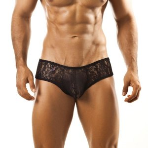 Joe Snyder Ling Mini Cheek Boxer Brief L04 Black Underwear