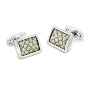 Duncan Walton Clader Cufflinks Natural White C2822