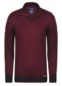 Giorgio Di Mare Jersey Long Sleeved Sweater Bordeaux GI5596560