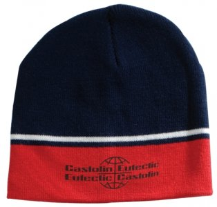 Grace Acrylic Beanie Two Tone With Piping Cap AH740