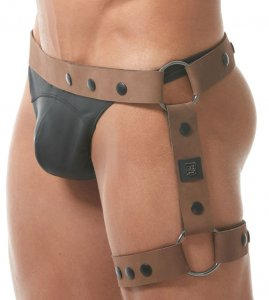 Gregg Homme BONDED Harness Bottom Tan 150961