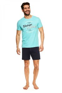 Henderson Jones 36825-60X Pyjama Short Sleeved T Shirt & Sho...