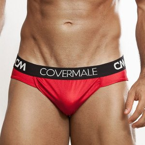 Cover Male Hung Brief Underwear Red 136