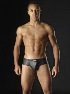 MANstore M104 Micropo Brief Underwear Black 2-08171/8000 NOS