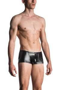 MANstore M107 Bungee Pants Boxer Brief Underwear Black 2-100...