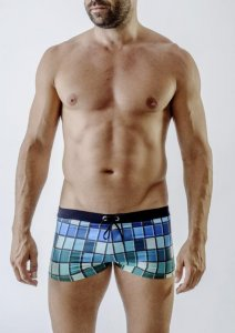 Geronimo Square Cut Trunk Swimwear 1718B1-3