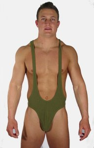 Buffedbod Custom Contour Seamed Ultra Low Cut Bodysuit UN032 [Pick Color]