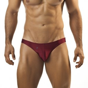 Joe Snyder Bikini 01 Wine Underwear & Swimwear