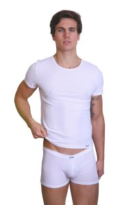 Lookme ROCKET Poly Style Short Sleeved T Shirt White 38-81