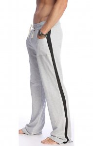4-rth Eco Track Pants Heather Grey/BlackETP-HB