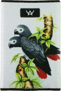 YaYwallet African Grey Wallet 1088
