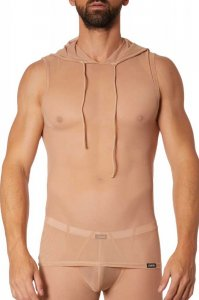 Lookme Malibu 2 Sheer Hoody Sleeveless Nude 92-77