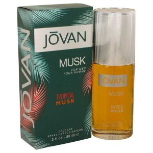 Jovan Tropical Musk Cologne Spray 3 oz / 88.72 mL Men's Frag...