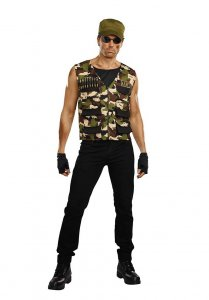 Dreamguy Friendly Fire Costume 10244