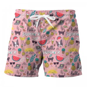 Mr. Gugu & Miss Go Sweet Summer Trunks Swimwear ST821