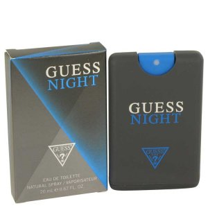 Guess Night Mini EDT Spray 0.67 oz / 19.81 mL Men's Fragranc...