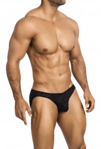 Vuthy Glitter Erotic wear Bikini Underwear Black 455