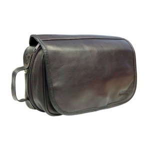 Asdrumark Hanging Wash Bag Dark Brown AM099