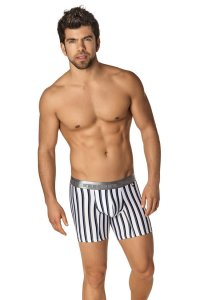 Xtremen Microfiber Boxer Brief Underwear White 51328