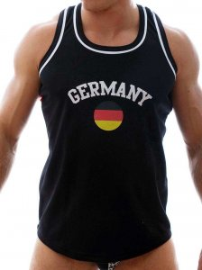 Good Boy Gone Bad Basketball Germany Tank Top T Shirt