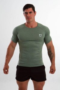 Twotags Cool Sweat Short Sleeved T Shirt Army Green