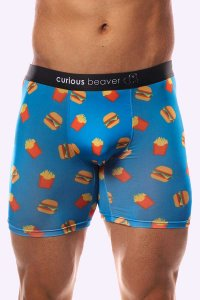 Curious Beaver In & Out Boxer Brief Underwear Burger
