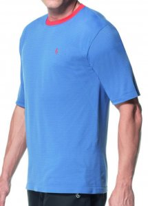 Lupo Nova York Seamless Dry Short Sleeved T Shirt Blue 70018...