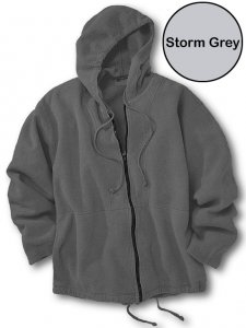 Chammyz Surf Bomber Sweater Storm Grey