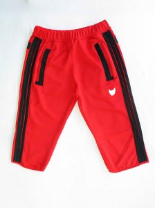 Bullywear Hugger Knee Shorts Red SHST39