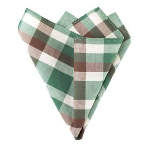 Ulterior Motive Orion Forrest Handkerchief Green/Brown/Eggsh...