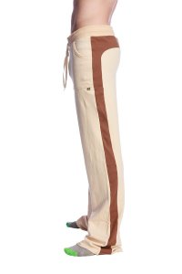 4-rth Tri Color Stretch Eco Track Pants Sand/Chocolate/Black