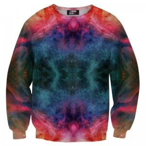 Mr. Gugu & Miss Go Colorful Nebula Unisex Sweater S-PC069