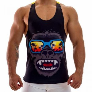 Alongwear Gorilla Tank Top T Shirt