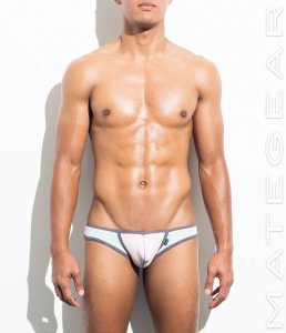Mategear Sung Hee Cotton Extremely Sexy Mini Boxer Brief Underwear Pink 340804