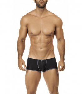 Intymen Pouch Mini Boxer Brief Underwear Black 5618