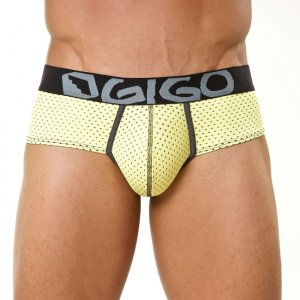 Gigo COMBINED Brief Underwear Yellow