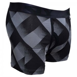 Sly Underwear Lumberjack Boxer Brief Underwear Grey BUWLJG