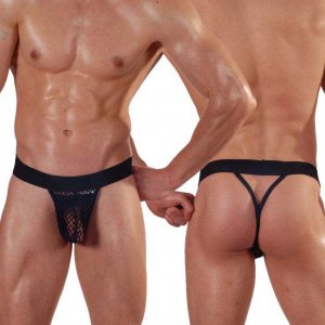 Don Moris Net Thong Underwear Black DM140564