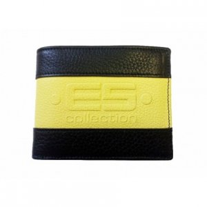 ES Collection Leather Wallet Yellow WLT01