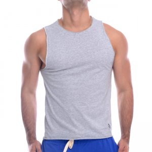 Private Structure Athlete Muscle Top T Shirt Light Melange 99-MT-1665
