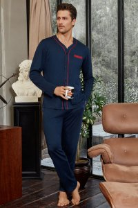 Doreanse Button Down Long Sleeved T Shirt & Pants Set Lounge...