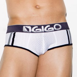 Gigo FRESH WHITE Brief Underwear G01124